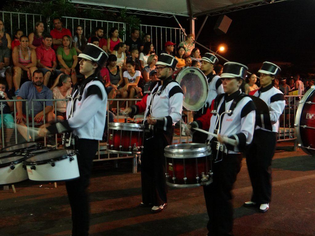 Evento contou com apresentação de Bandas de Percussão (Foto: Antônio Carlos)