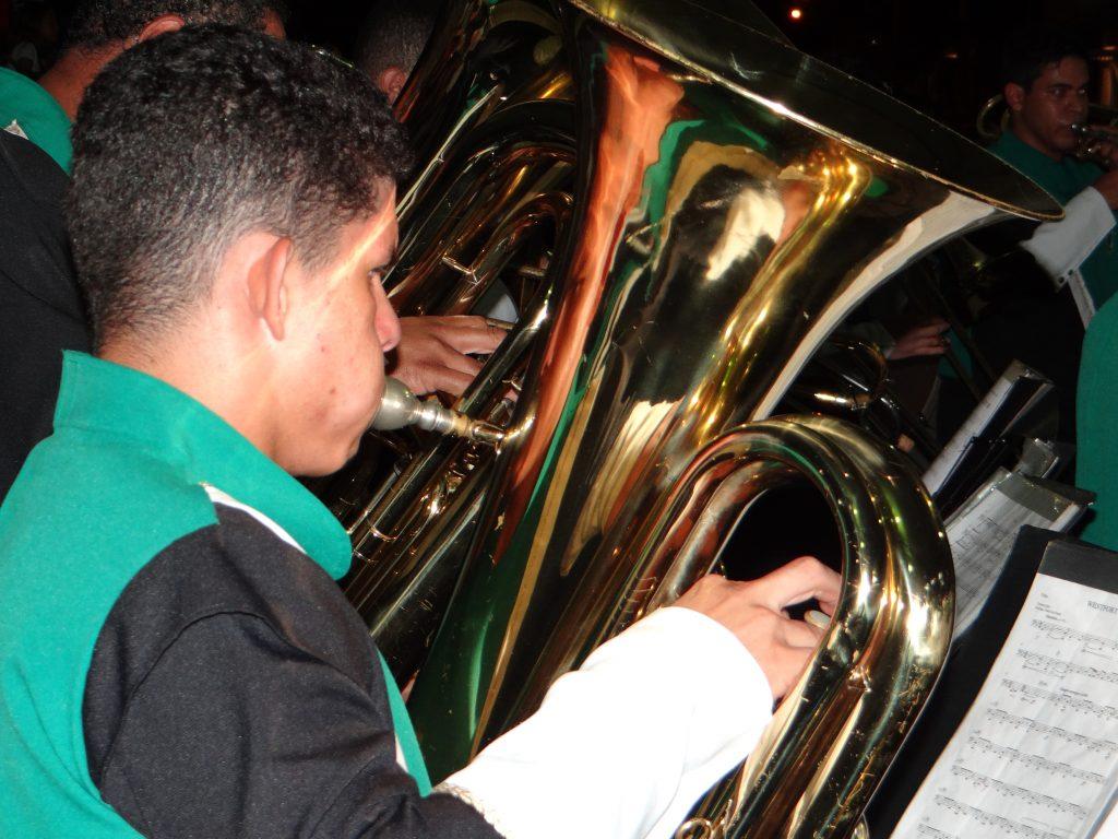 Final do Campeonato reuniu cerca de mil músicos durante o final de semana em Bocaina. (Foto: Antônio Carlos)